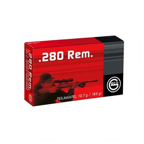 Geco 280 Remington Ammo 165 Grain SP
