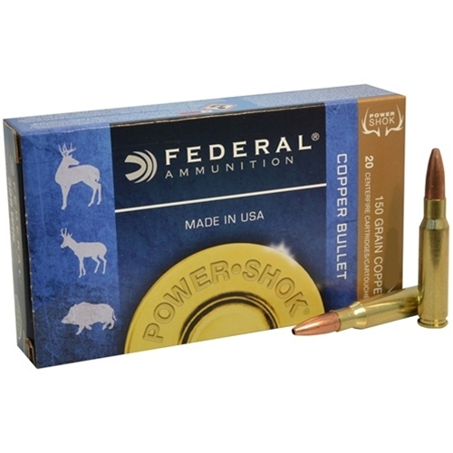 Federal Power-Shok 300 AAC Blackout Ammo 150 Grain Copper HPLF