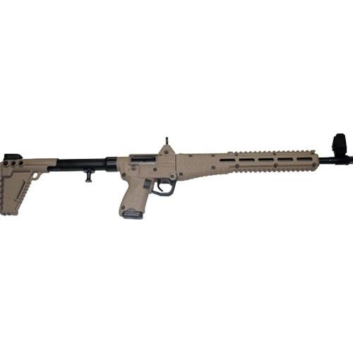 "Kel-Tec Sub 2000 G2 Glock 17 9mm Luger Semi-Auto 17 Rds 16.1""Tan"