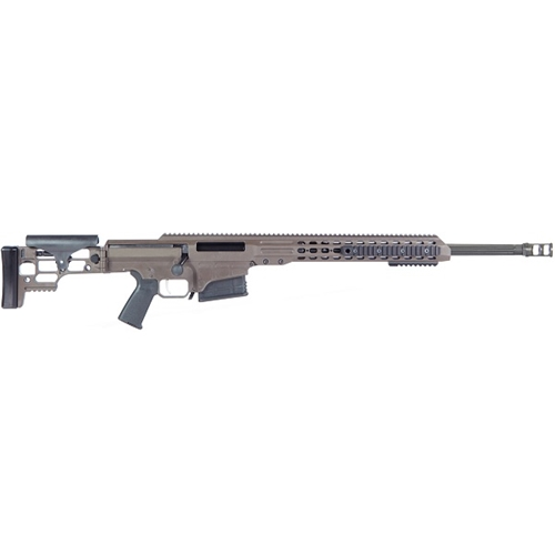 "Barrett MRAD 338 Lapua Magnum Bolt Action 10 Rds 24"" Brl Grey"