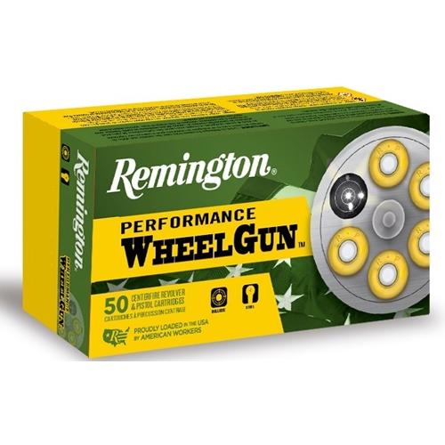 Remington Performance Wheelgun 357 Magnum Ammo 158 Gr LSW