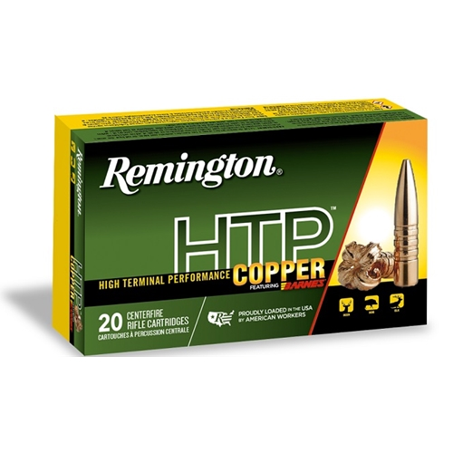 Remington HTP Copper 30-30 Winchester Ammo 150 Gr Barnes TSX