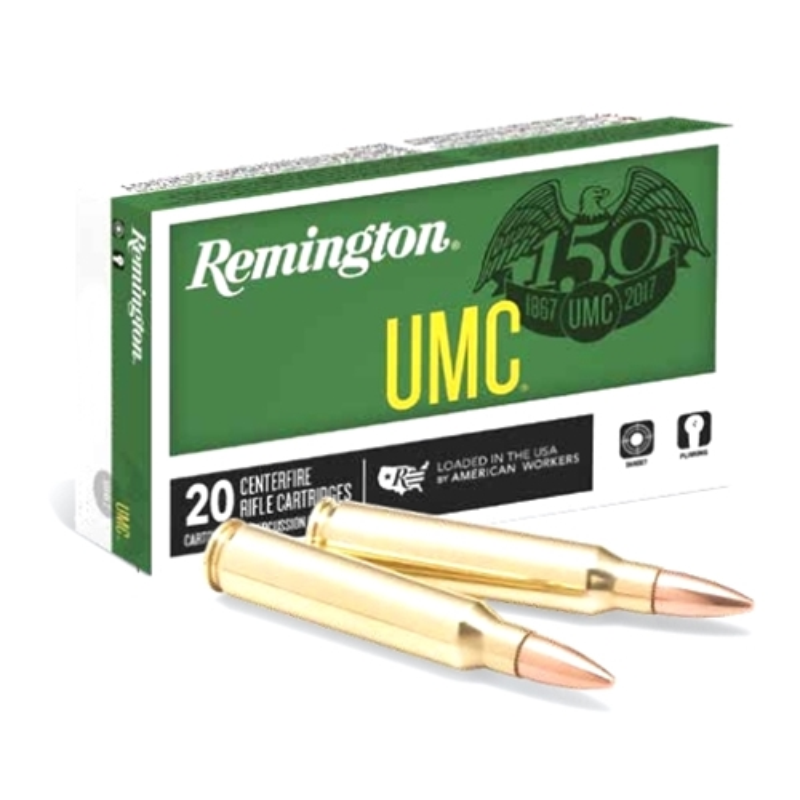 Remington UMC 223 Remington Ammo 55 Grain FMJ