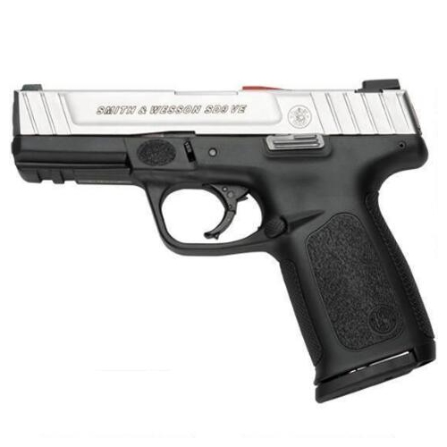 "S&W SD9VE 9mm Luger Semi Auto 4"" Brl 17 Rds Stainless Slide Blk"