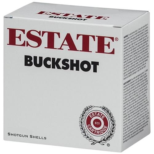 """Estate Cartridge 12 Gauge Ammo 2 3/4"""" 3 1-1/8oz #8 Shot"""