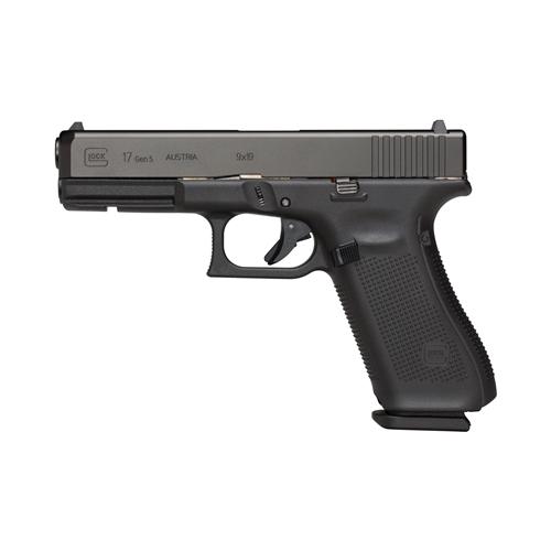 """Glock G17 Gen5 9mm Luger Semi-Auto 10 Rds 4.5"""" Brl nDLC"""