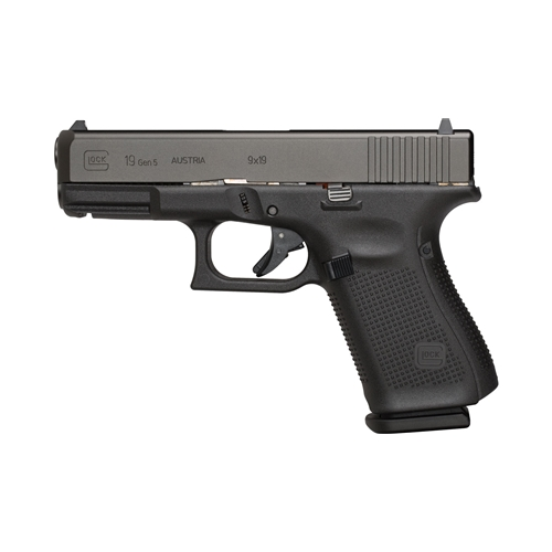 """Glock G19 Gen5 9mm Luger Semi-Auto 15 Rds 4"""" Marksman Brl nDLC"""