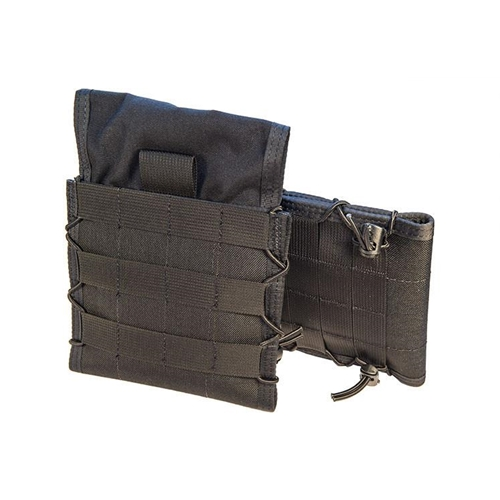 High Speed Adjustable Side Plate Pouch Black