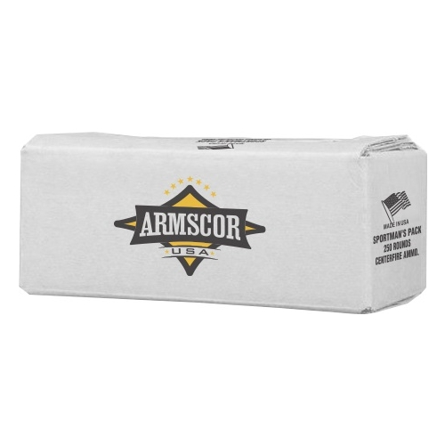 Armscor USA Sportsman's Pack 380 ACP AUTO Ammo 95 Gr FMJ 250 Rds