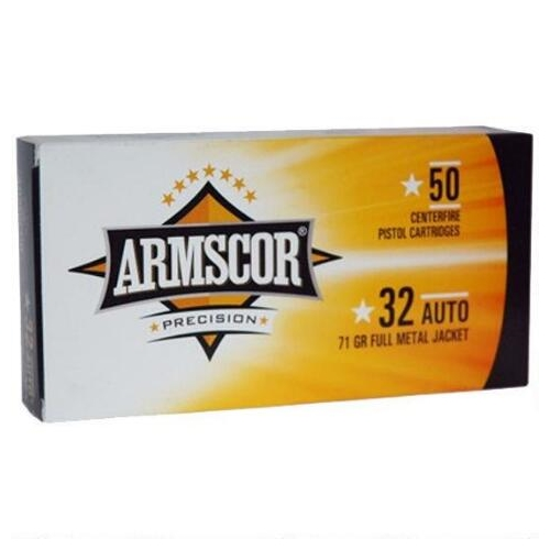 Armscor USA 9mm Luger Ammo 115 Grain Full Metal Jacket