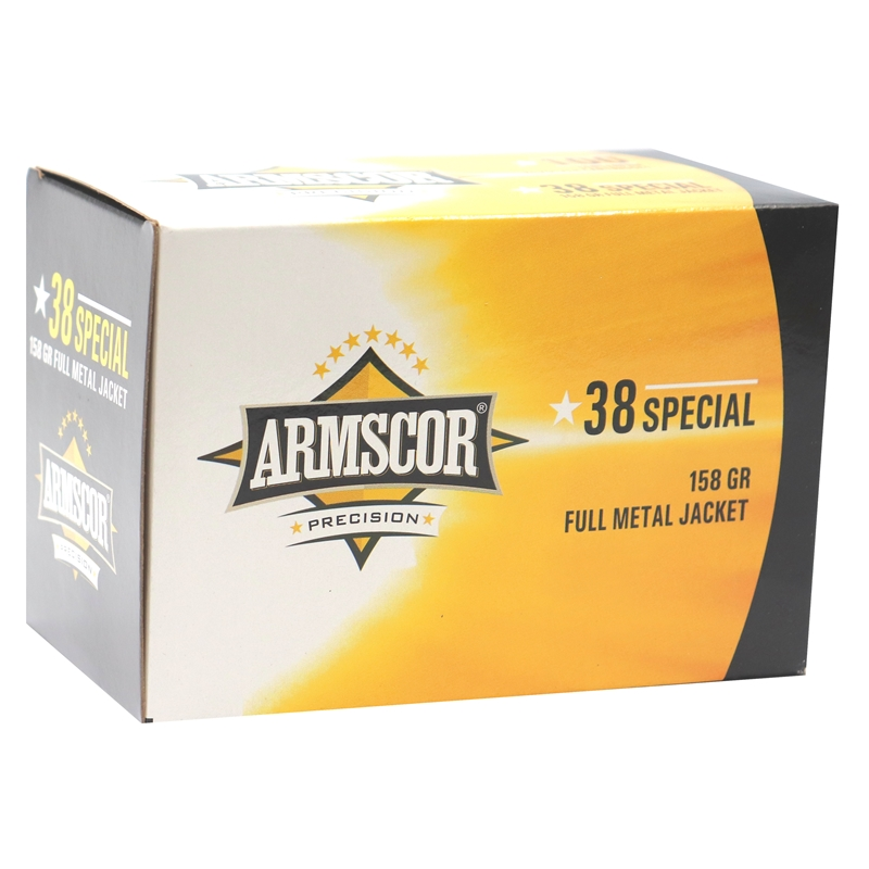Armscor Precision 38 Special Ammo 158 Grain FMJ VP