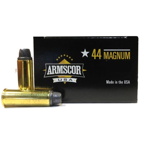 Armscor USA 44 Remington Magnum Ammo 240 Gr Semi Wadcutter