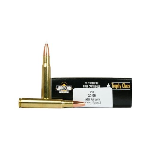 Armscor USA 308 Winchester Ammo 165 Grain Accubond