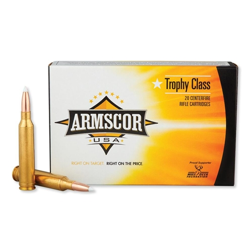 Armscor USA 300 Weatherby Magnum Ammo 180 Gr Accubond