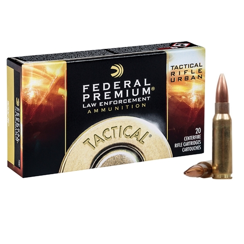 Federal LE Tactical TRU 7.62x51mm Ammo 125 Grain OTM