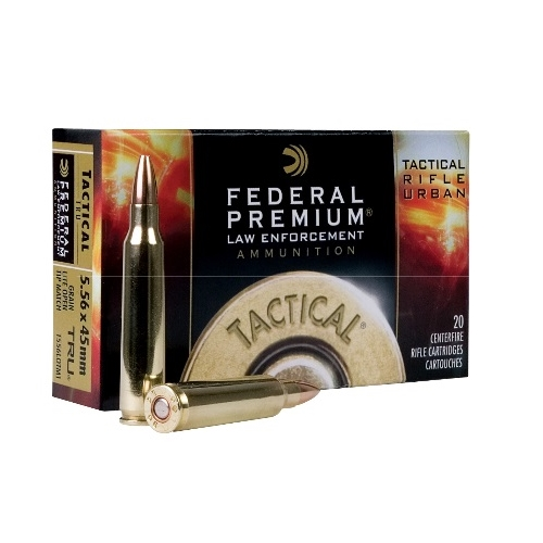 Federal LE Tactical TRU 5.56x45mm Ammo 50 Grain Lite OTM