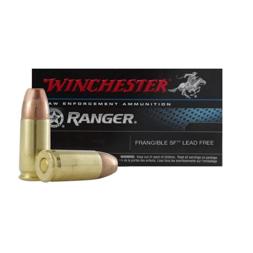 Winchester Ranger 40 S&W Ammo 135 Grain Frangible SF