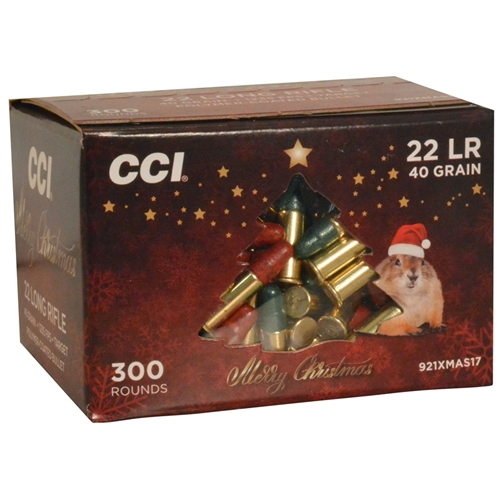 CCI High Velocity 22 Long Rifle Ammo 40 Grain LRN