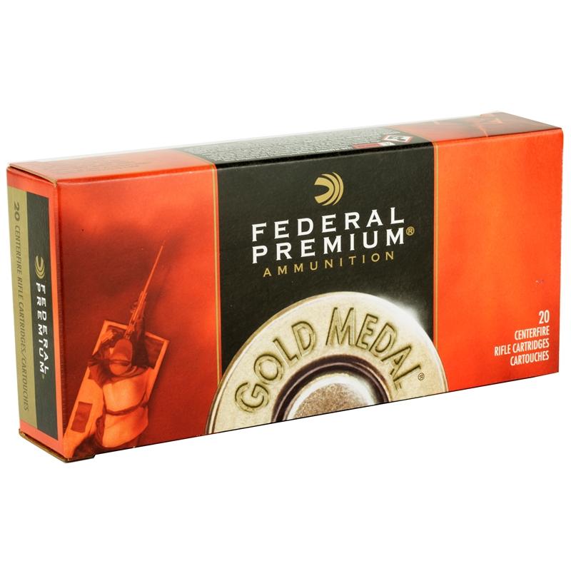 Federal Gold Metal 338 Lapua Magnum Ammo 300 Grain SMKH