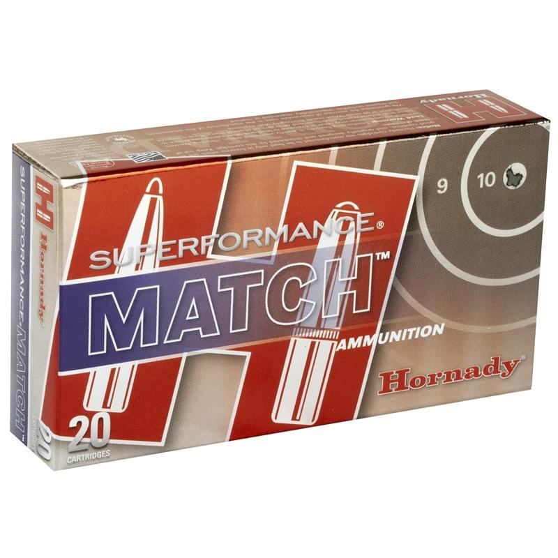 Hornady Superformance Match 223 Remington Ammo 73 Gr ELDM