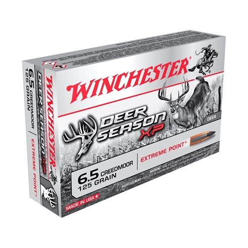Winchester Deer Season XP 6.5 Creedmoor Ammo 125 Gr XPP Tip