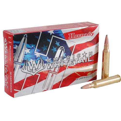 Hornady American Whitetail 300 WSM Ammo 165 Grain ISP