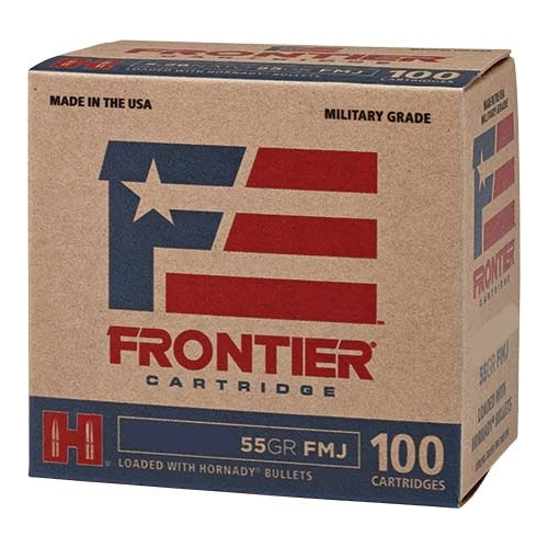 Frontier Cartridge Military Grade 223 Remington Ammo 55 Gr HFMJBT