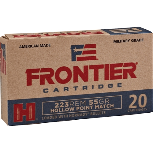 Frontier Cartridge Military Grade 223 Remington Ammo 55 Gr HHPM