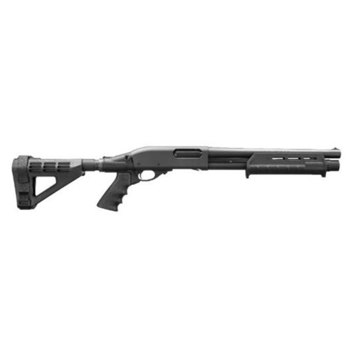 "Remington 870 Tac-14 12 Ga Pump Act 14"" Brl 5 Rds Arm Brace Blk"