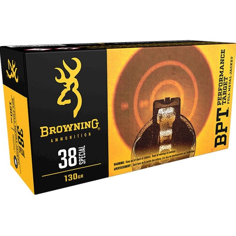 Browning 38 Special Ammo 130 Grain FMJ
