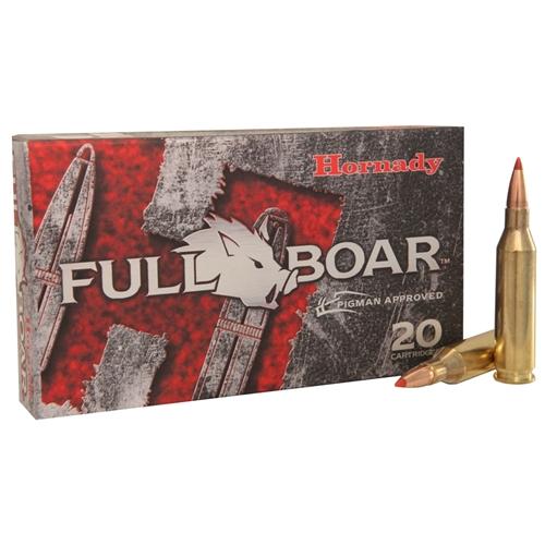Hornady Full Boar 243 Winchester Ammo 80 Grain GMX BTLF
