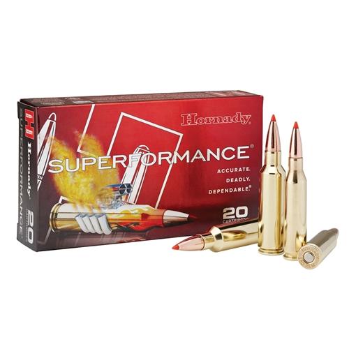 Hornady Superformance 375 H&H Magnum Ammo 250 Grain GMX BTLF