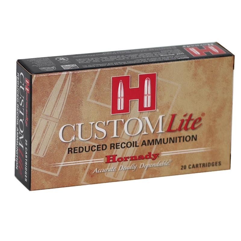 Hornady Custom Lite 243 Winchester Ammo 87 Grain SST