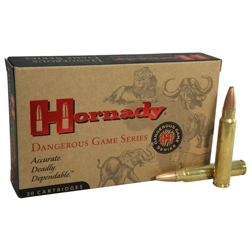 Hornady Dangerous Game Superformance 375 Ruger Ammo 270 Gr SPRP