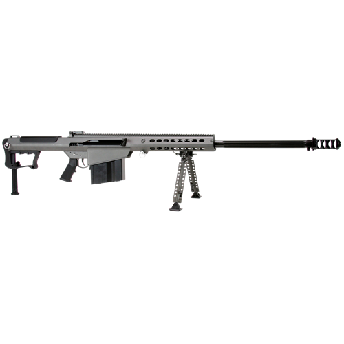 """Barrett M107 A1 50 BMG Semi-Auto 29"""" Brl 10+1 Rds Fxd Stk Cer/Blk"""