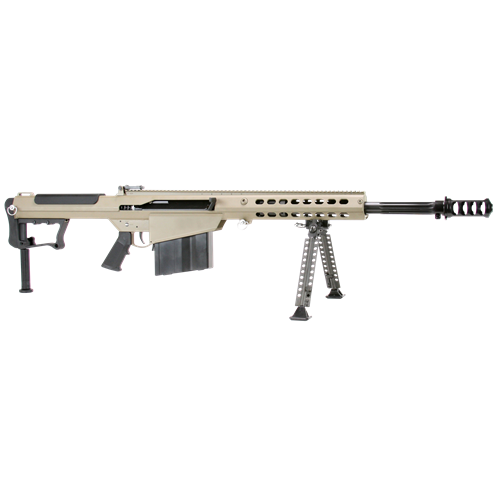 "Barrett M107 A1 50 BMG Semi-Auto Rifle 20"" Brl 10+1 Rds FDE/Blk"