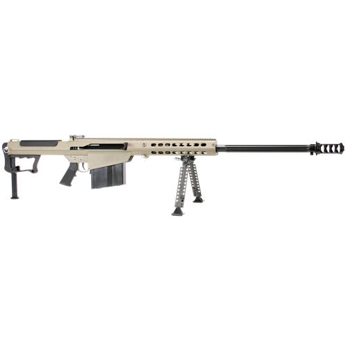 "Barrett M107 A1 50 BMG Semi-Auto Rifle 29"" Brl 10+1 Rds FDE/Blk"