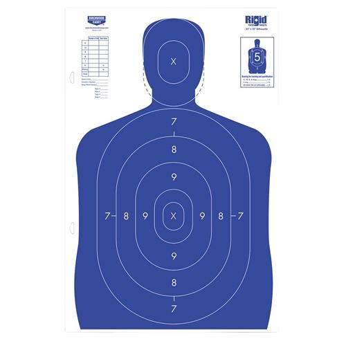 "Birchwood Casey Rigid 23"" x 35"" Silhouette Target"