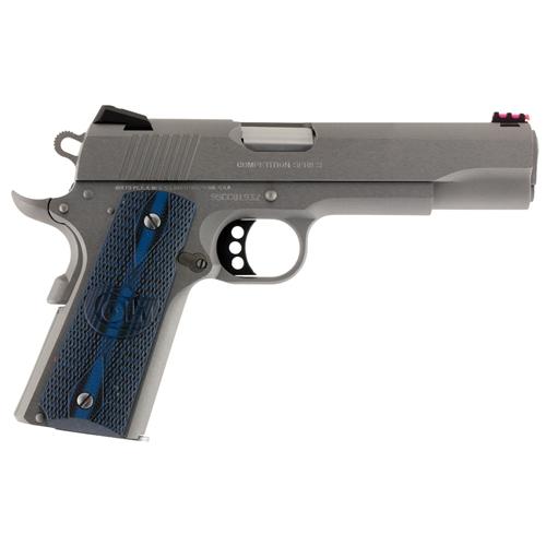 """Colt 1911 Comp 70 Series 9mm Luger Semi-Auto 5"""" Brl 9 Rds Blue SS"""