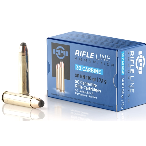 Prvi Partizan Ammo 30 Carbine 110 Grain Round Nose Soft Point
