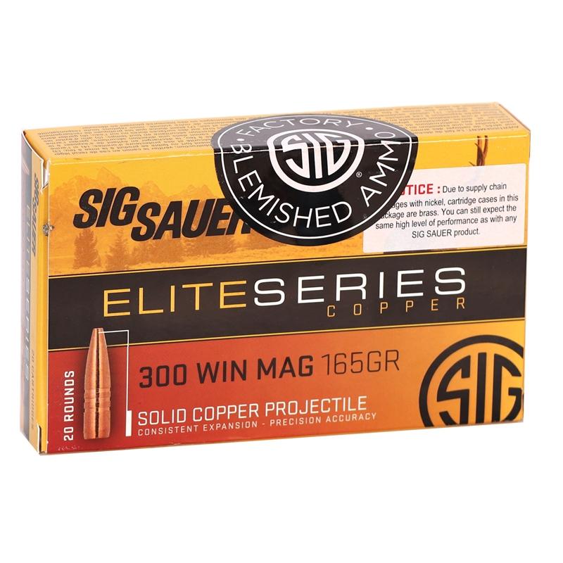 Sig Sauer Elite Hunting HT 300 Winchester Mag Ammo 165 Gr SCLFE