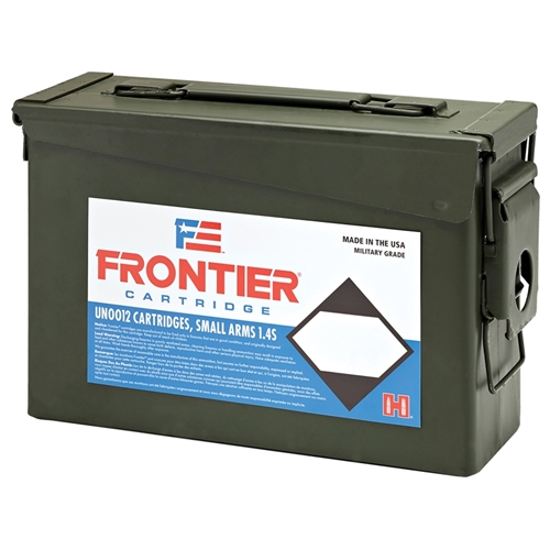 Frontier MG 5.56x45mm NATO Ammo 55 Gr HHPM 500 Rds in Ammo Can