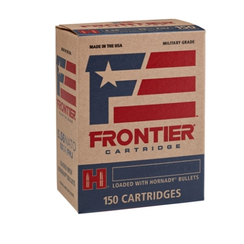 Frontier Cartridge MG 5.56x45mm NATO Ammo 62 Gr HSP 150 Rds