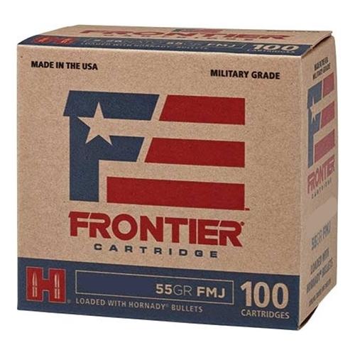 Frontier MG 5.56x45mm NATO Ammo XM193 55 Gr HFMJBT 1000 Rds