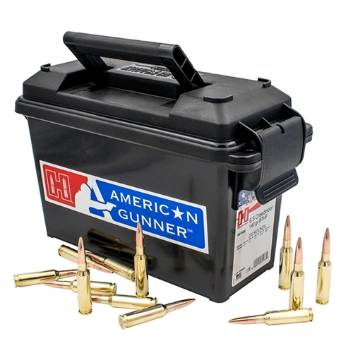 Hornady American Gunner 6.5 Creedmoor Ammo 140 Gr HPBT 200 Rounds in Ammo Can