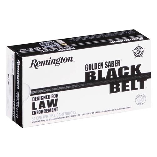 Remington Golden Saber Black Belt 45 ACP AUTO Ammo 230 Grain BJHP