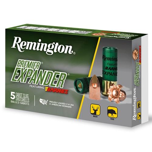 "Remington Ammunition Premier 12 Gauge Ammo 3"" 437 Grain Sabot Slug Shot"