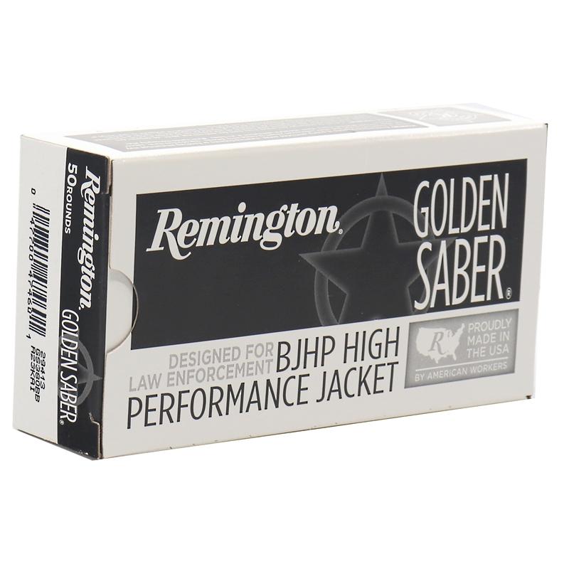 Remington Golden Saber 380 ACP AUTO Ammo 102 Grain BJHP