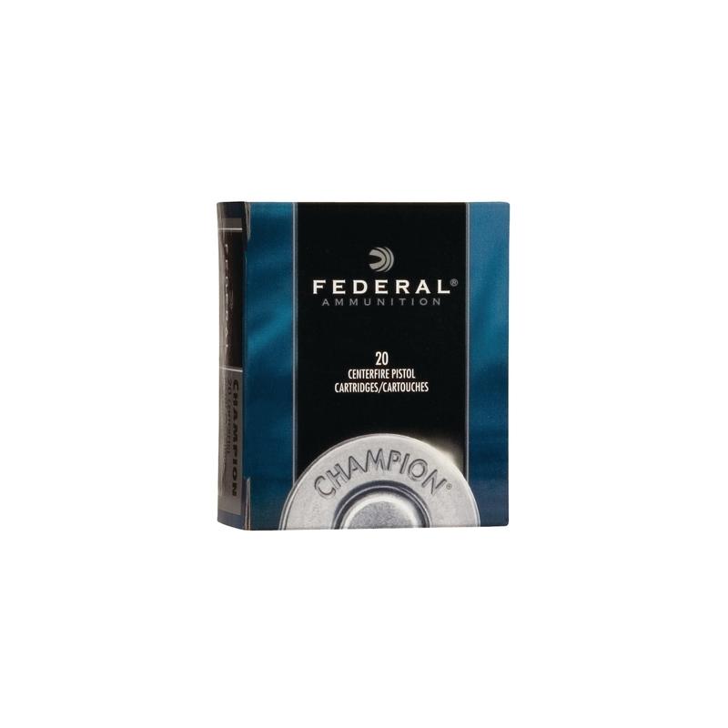Federal Champion 32 S&W Long Ammo 98 Grain Lead Wadcutter