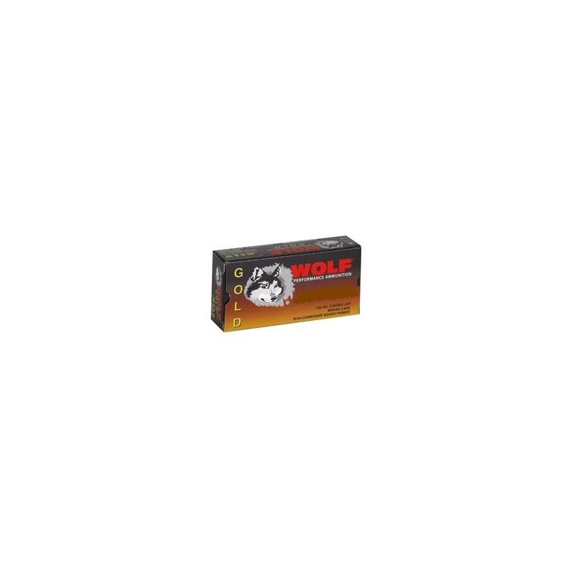 Wolf Gold 9mm Makarov Ammo 100 Grain Full Metal Jacket